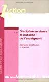 Discipline en classe et autorité de l'enseignant