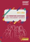 Les formations artistiques dans l'enseignement supérieur 2021/2022