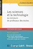 Les sciences et la technologie au concours de professeur des écoles