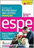 Concours professeur des écoles [concours 2015] : épreuve écrite de français