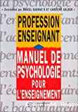 Manuel de psychologie pour l'enseignement