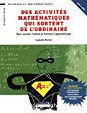 Des activités mathématiques qui sortent de l'ordinaire