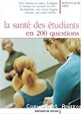 La santé des étudiants en 200 questions