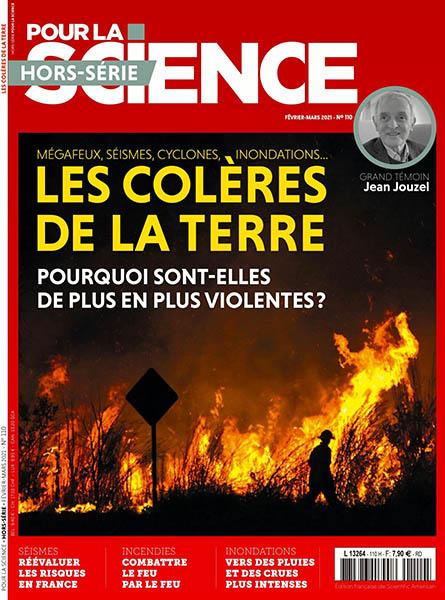 HS 110 - Février - mars 2021 - Les colères de la Terre (Bulletin de Pour la science, HS 110 [01/02/2021])