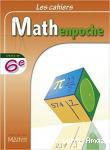 Les cahiers Mathenpoche : classe de 6e