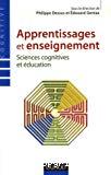 Apprentissages et enseignement