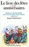 Le livre des fêtes et des anniversaires