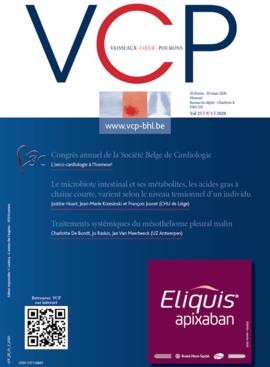 Congrès annuel de Société Belge de Cardiologie, 13-14 février 2020. Quand le coeur rencontre l'Atomium