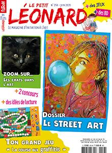 Le Petit Léonard, n°258 - juin 2020 - Le street Art
