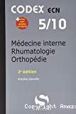 Médecine interne, immuno-allergologie, rhumatologie, orthopédie