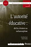 L' autorité éducative