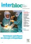 La gypsothérapie au bloc opératoire, nouvelle prérogative de l'Ibode