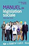 Manuel de législation sociale