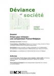 La carcéralisation de l'enfermement des mineurs en Belgique