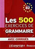 Les 500 exercices de grammaire