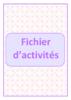 Fichier d'activités - application/pdf